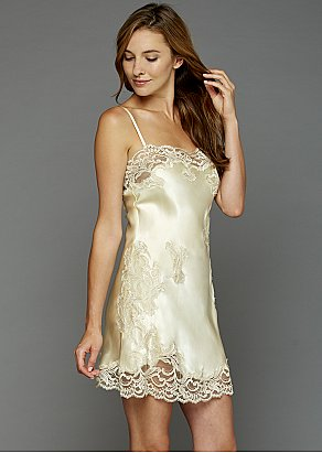 Moonlight Serenade Silk Nightgown