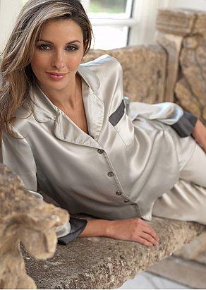 Evening Lounge Silk Pajama