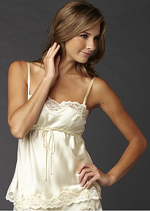Sweet Indulgence Silk Camisole Top