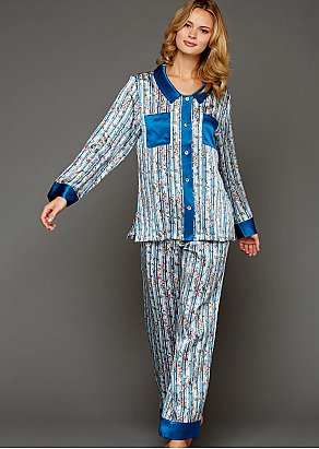 My Newest Crush Silk Pajama