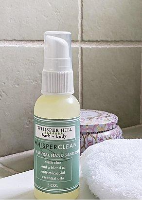 Whisper Clean Hand Sanitizer