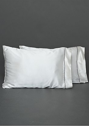 Sleep-On Silk Pillow Case Set of Two