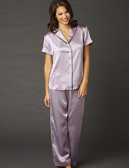 luxury silk pajamas