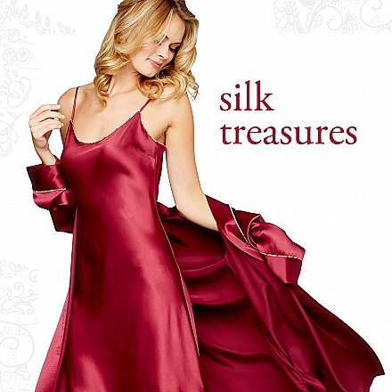 fine silk nightgowns and chemises - gifts for her