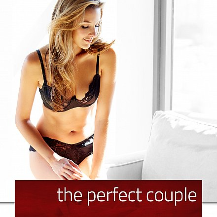 the perfect couple - bras and panties