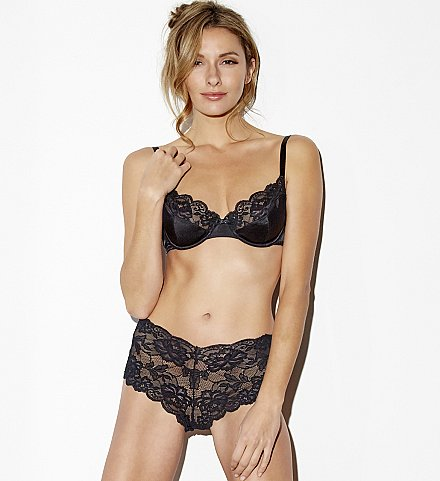 Le Tresor Silk Bra and Lace Panty