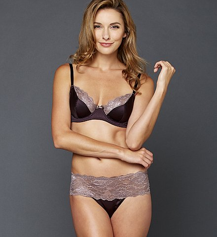 Indulgence Silk Bra and Bikini
