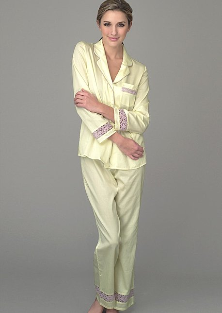 Sun Showers Cotton PJs - Luxury Sleepwear