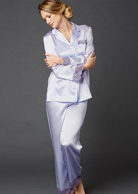Luxury silk pajama, Le Tresor Silk Pajamas