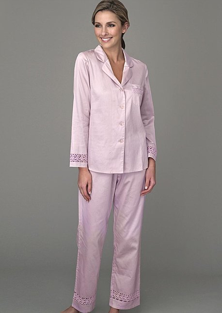 Sun Showers Cotton Pajama - Luxury Cotton PJ