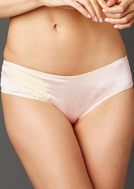 Le Tresor Silk Hipster Panty - No Show Underwear