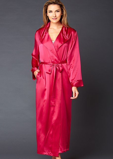 Ariadne Silk Robe - Women's Luxury Silk Robe
