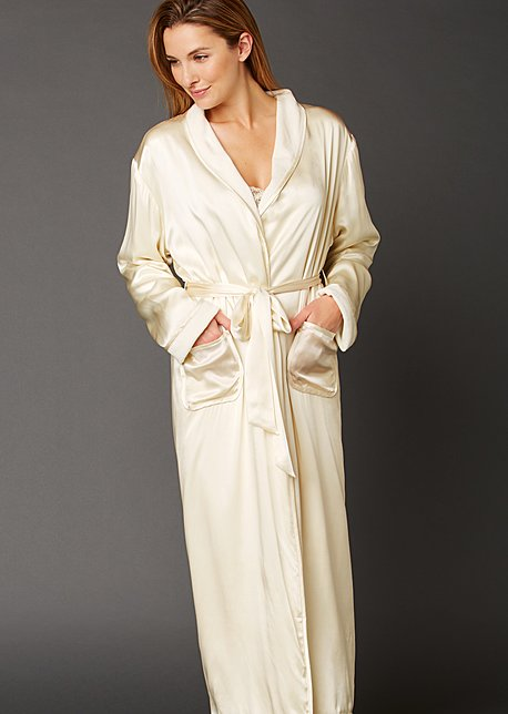 Il Cieli Spa Robe - Reversible Women's Spa Robe