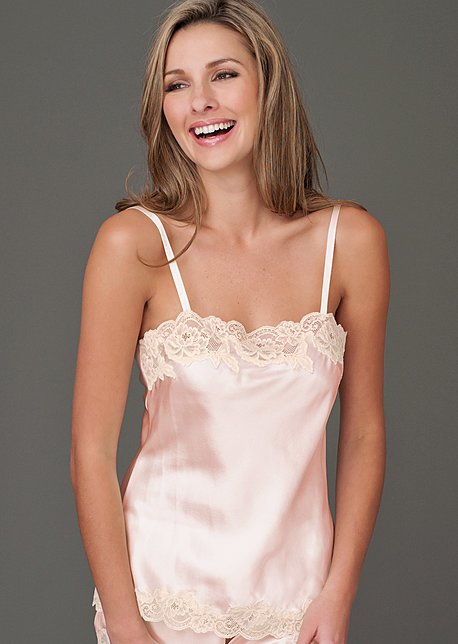 Silk Tresor Camisole - Women's Silk Intimate Wear, Silk Cami