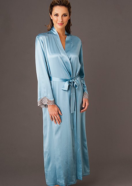 Silk full length robe, Indulgence Silk Robe