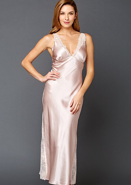Allura Silk Long Gown