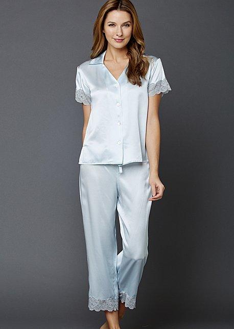 Tresor Delice Silk Pajamas - Luxury Silk PJ