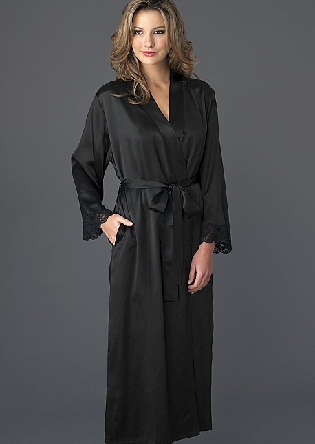 Le Tresor Silk Robe - Women's Silk Robe