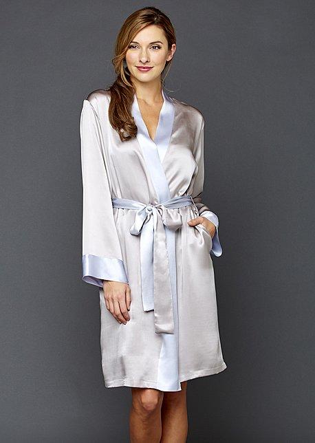 Charming Silk Robe