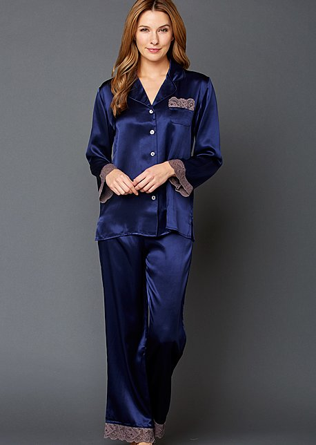Luxury silk pajama, Serendipity Pajama