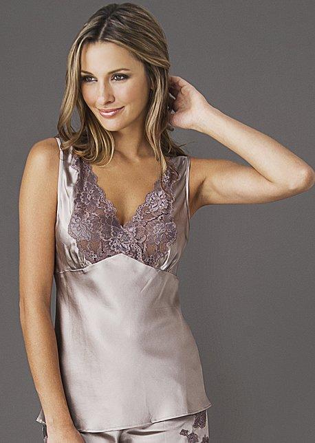 Perfect Indulgence Silk Cami Top - Women's Silk Camisole, Pure Silk