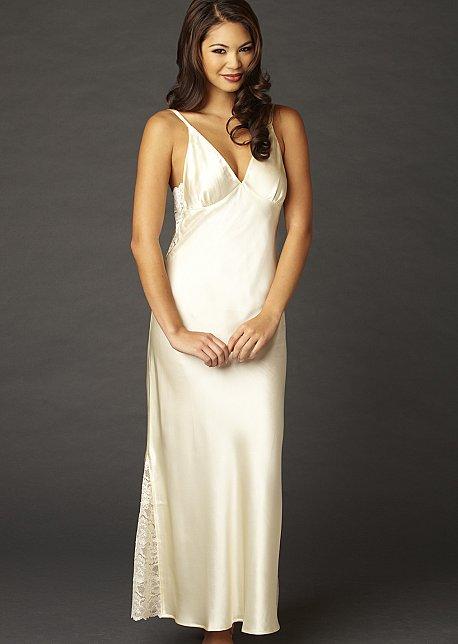 5ae70dcf09ab Ariadne Silk Long Gown - Luxury Silk Nightgown