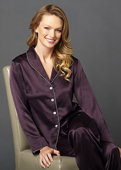 Natalya Silk Pajamas - Women's Sleepwear, 100 pct Silk Pajamas