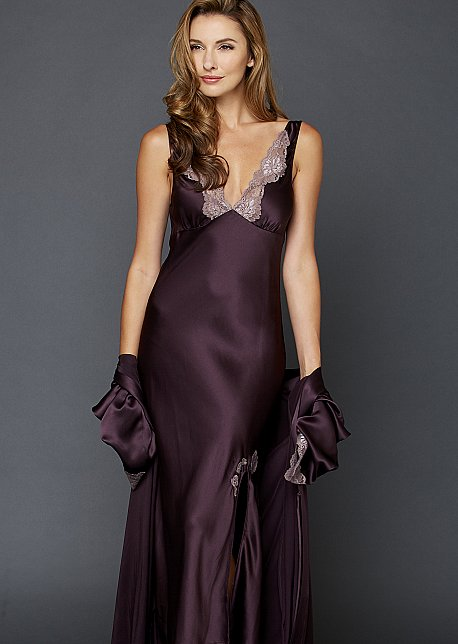 Perfect Indulgence Silk Gown - Luxurious Silk Gown