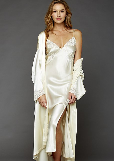 Le Tresor Silk Gown - Silk Long Gown