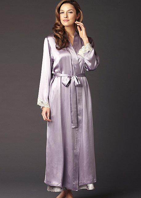Indulgence Silk Robe - Luxury Silk Robe
