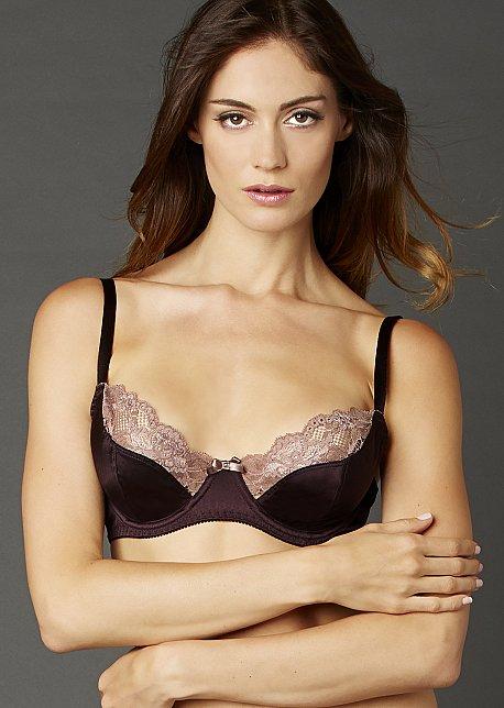 Indulgence Silk Bra - Soft Full Bra with Lace