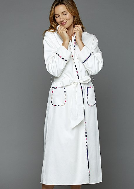 J'Adore Cotton Spa Robe