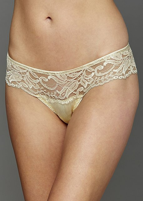 Moonlight Serenade Silk Thong