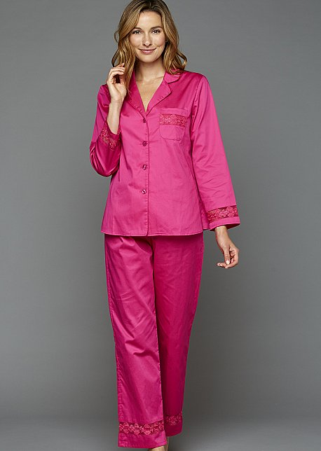 My New Favorite Cotton Pajama - Women's Button-Up PJ