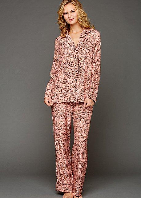 bf5c4a45e59b8 Paradise Found Silk Button-Up Pajamas | Julianna Rae