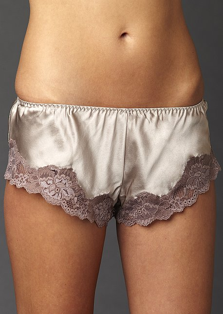 Perfect Indulgence Flutter Panty - Short Silk Boy Short