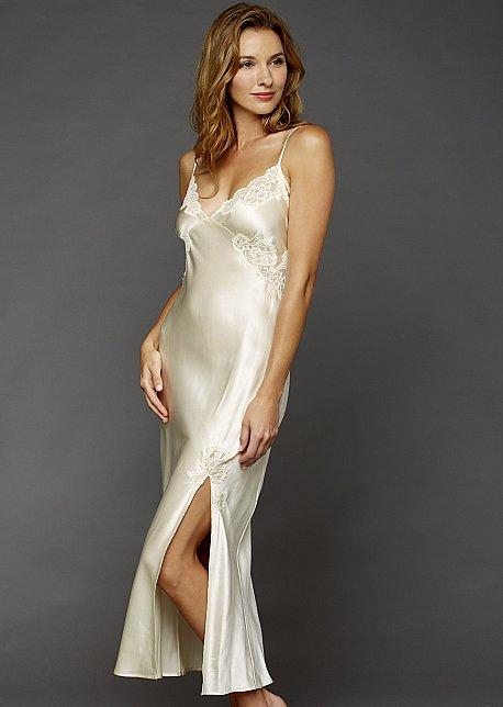 Le Tresor Silk Gown - Silk Long Gown