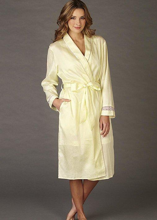 Luxury cotton robe, Sunshowers cotton robe