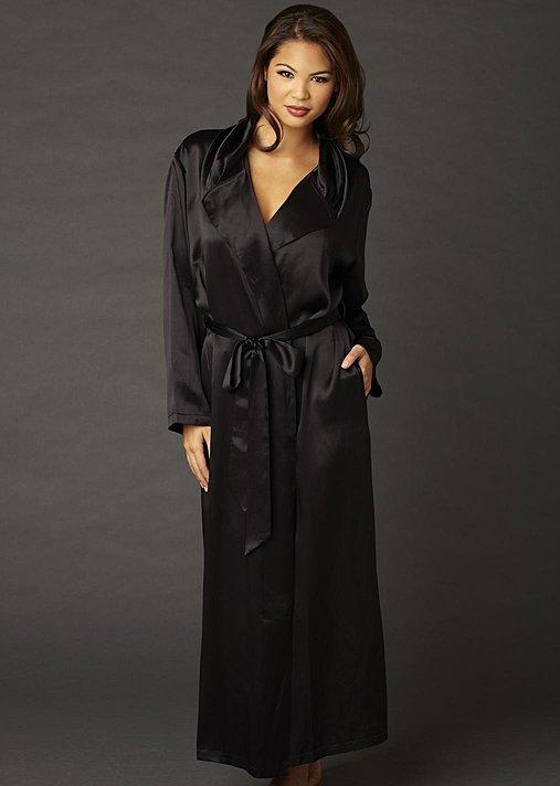 Ariadne Silk Robe Petite - Silk Robe, Petite Size