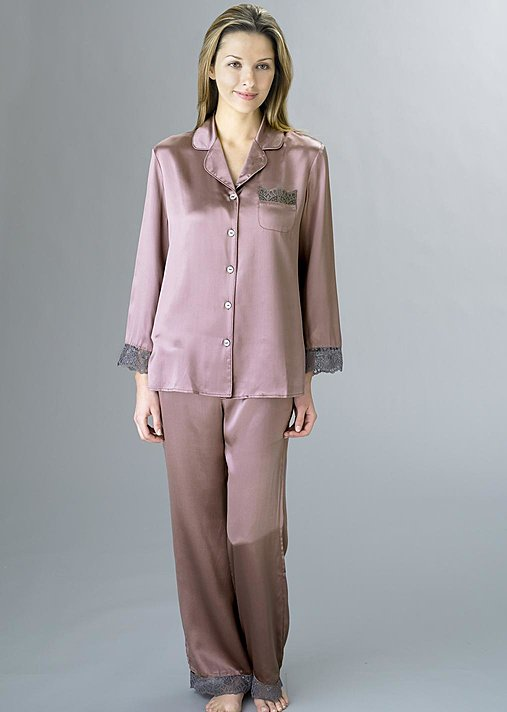 Sleep-In Silk Pajama - Pure Silk Pajama, Women's Silk PJ