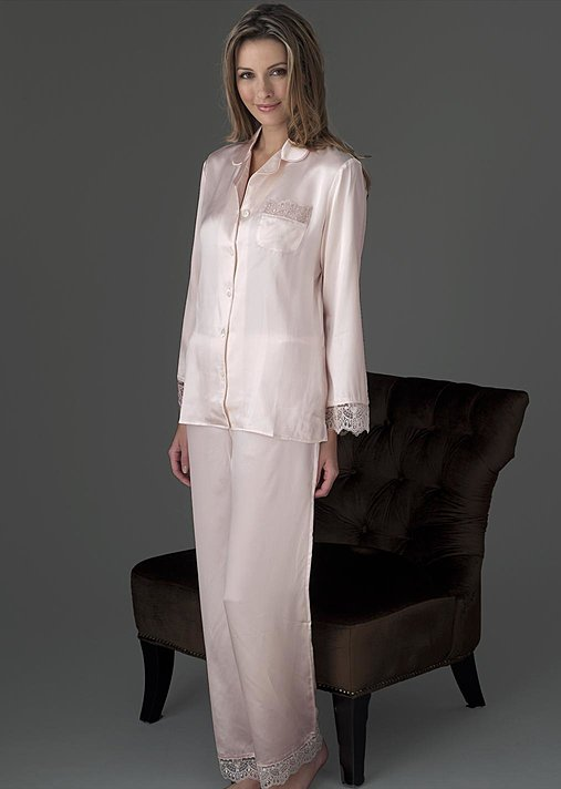 Luxury silk petite pajama, Sleep-In Pajama