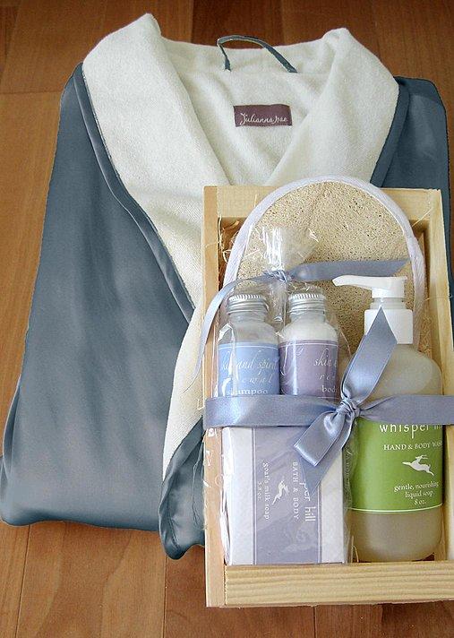 Heavenly Spa Robe Set Spa Robe Gift Basket Julianna Rae