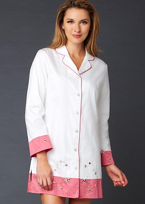 Sweet Dreams Cotton Sleepshirt - Natural Fiber
