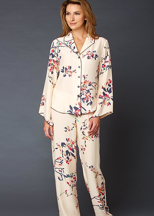 Goodnight Midnight Silk PJ - Luxury Print Pajama