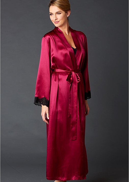 Indulgence Silk Robe - Women's Silk Robe