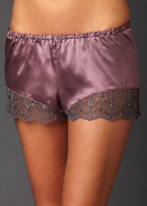 Le Soir Dream Silk Tap Pant - Women's Tap Pant, Silk and Lace Tap Pant
