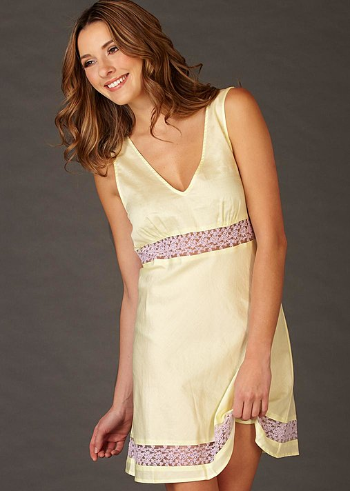 Pure cotton nightgown, Sun Showers Cotton Chemise