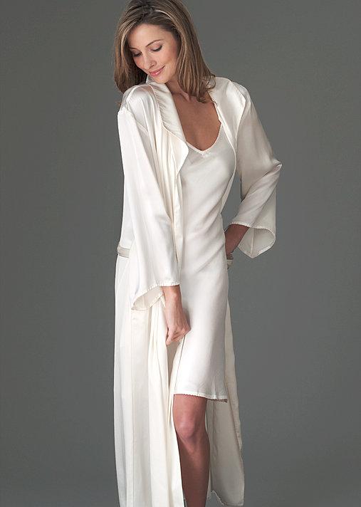 0df2b8c9c9 Evening Stroll Silk Robe - Full Length Luxurious Robe