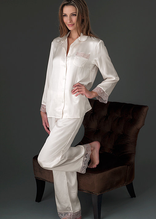 Luxury silk petite pajama, Sleep-In Pajama