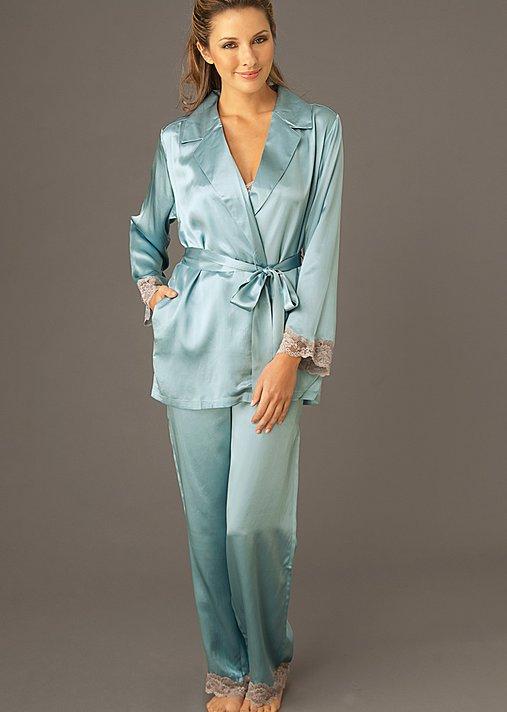 Tahitian Silk Wrap Pajama - Women's Silk PJ